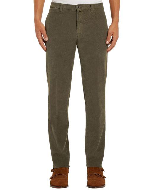 Pantalones Lardini de hombre de color Green