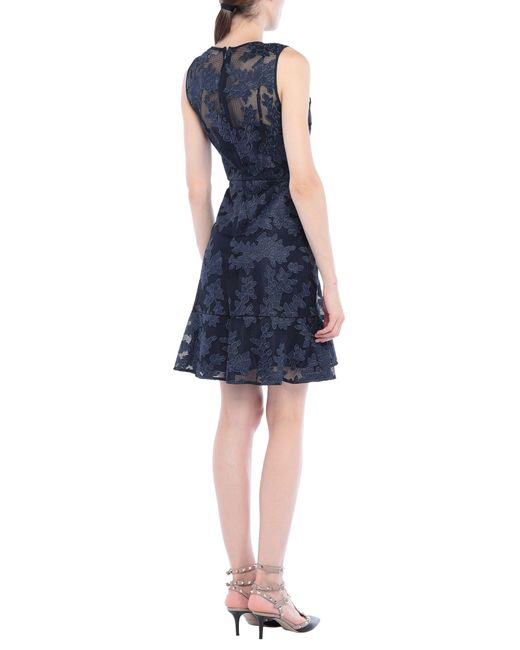 MICHAEL Michael Kors Blue Kurzes Kleid
