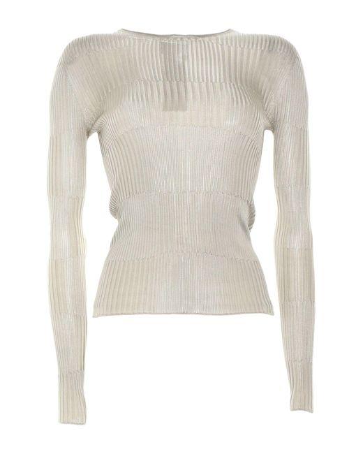 Pullover Giorgio Armani en coloris Gray