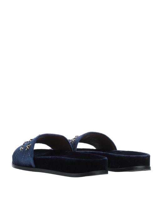 Aquazzura Blue Sandals