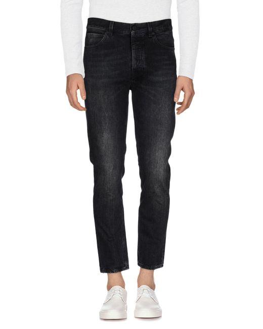 Pence | Black Denim Pants for Men | Lyst