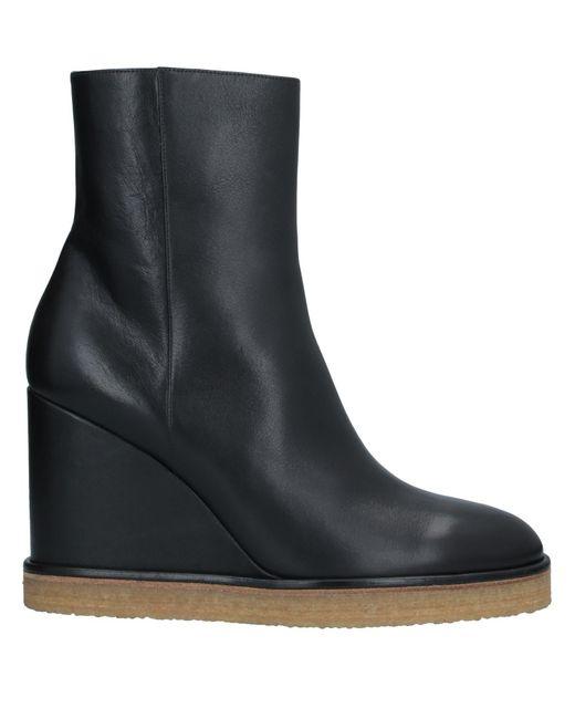 Céline Black Ankle Boots