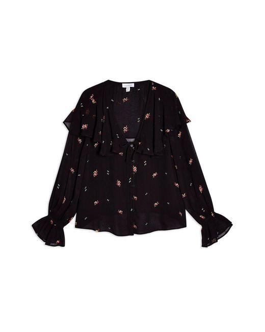 Blusa di TOPSHOP in Black