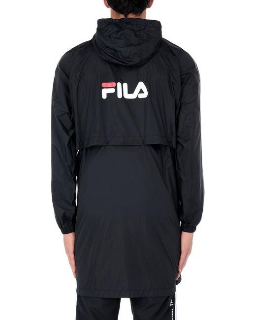 Pardessus Fila pour homme en coloris Black