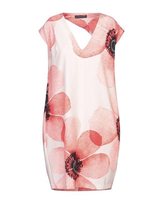 Vestito corto di Alessandro Dell'acqua in Pink