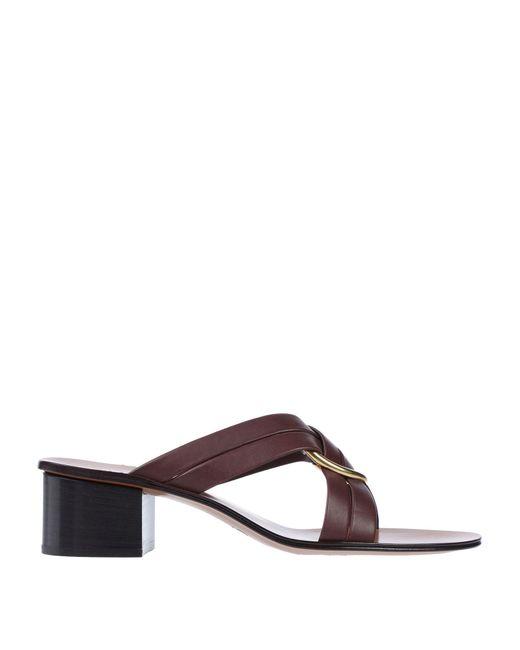 Chloé Brown Sandale