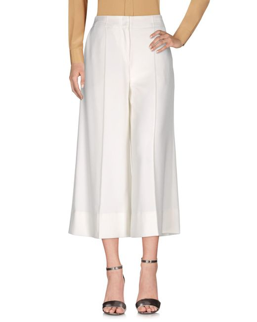 By Malene Birger - White Casual Trouser - Lyst