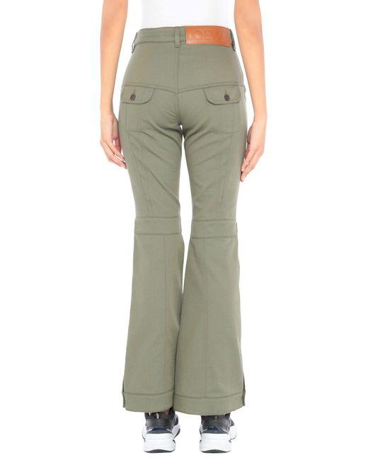 Pantalone di Loewe in Green