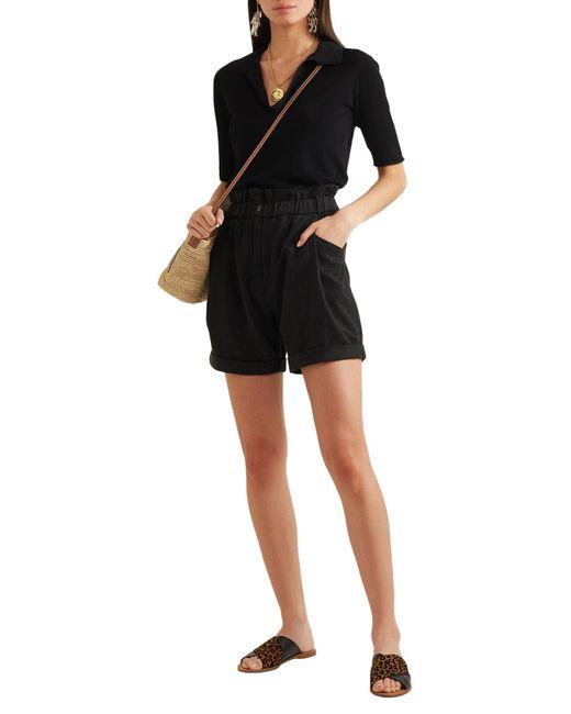 Diane von Furstenberg Black Sandale