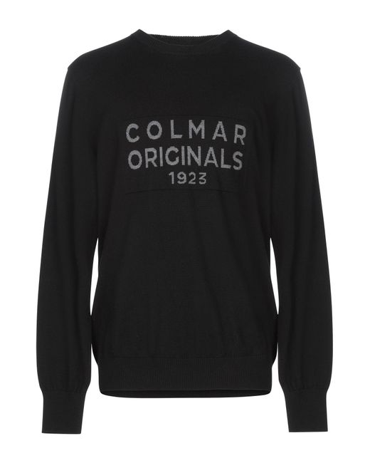 Colmar Black Jumper for men