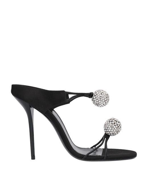 Saint Laurent Black Sandals