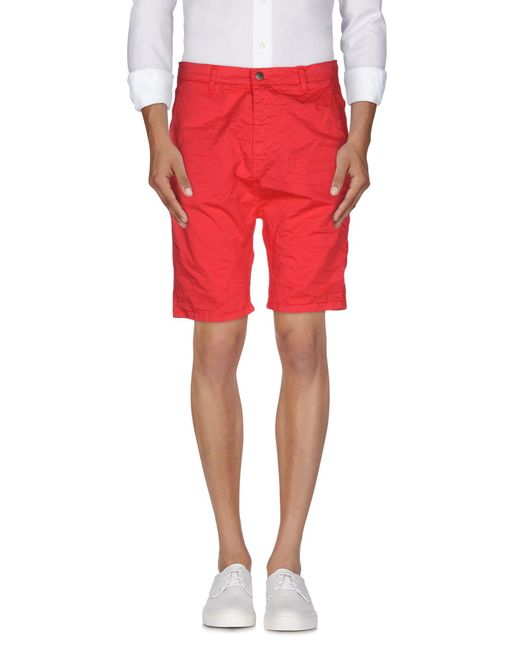 Imperial | Red Bermuda for Men | Lyst