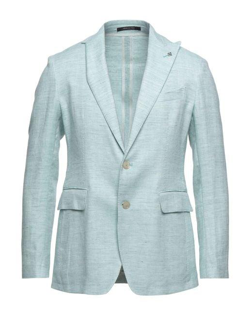 Tagliatore Green Suit Jacket for men