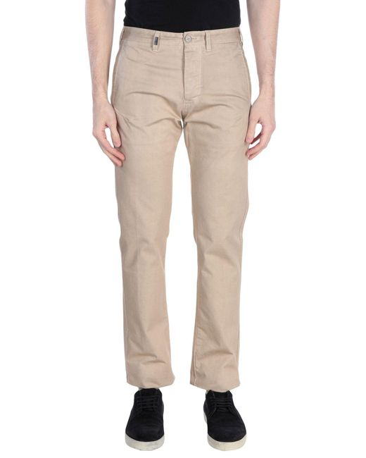 Mauro Grifoni Natural Casual Pants for men