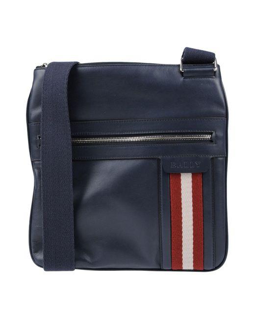 Bally Blue Cross-body Bag for men