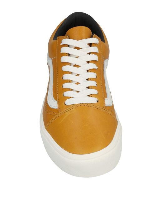 f47a08c5696f7a ... Vans - Orange Low-tops   Sneakers for Men - Lyst