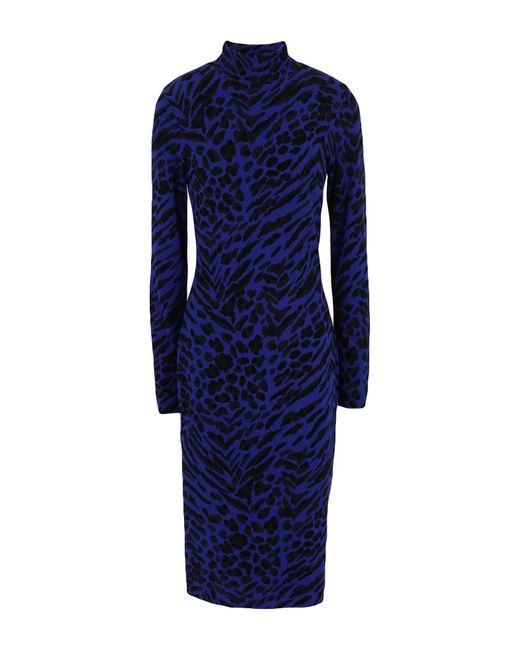 Vestido por la rodilla Blumarine de color Blue