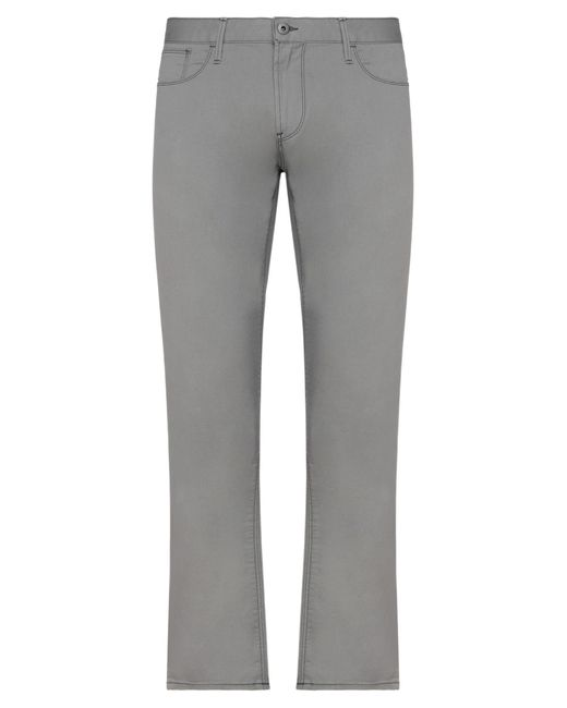Armani Jeans Gray Casual Trouser for men