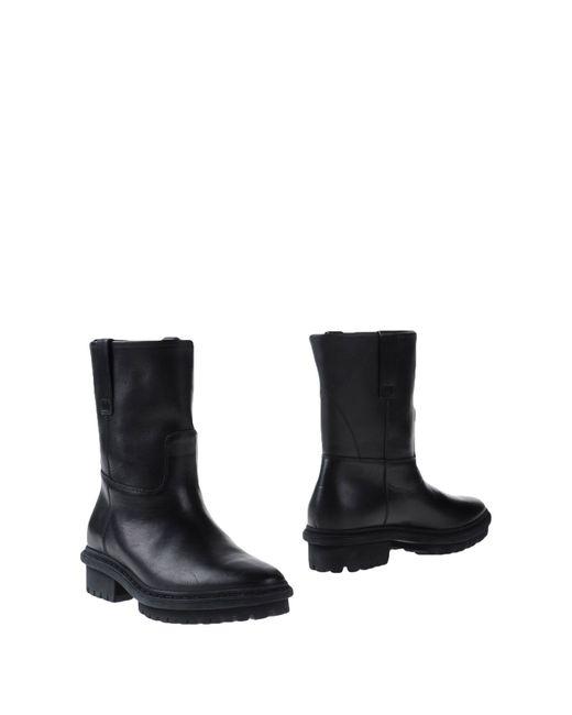 Balenciaga   Black Ankle Boots   Lyst