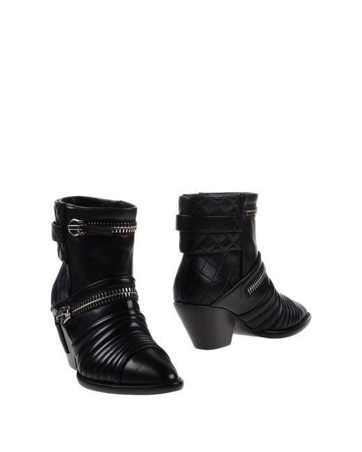 Giuseppe Zanotti | Black Ankle Boots | Lyst