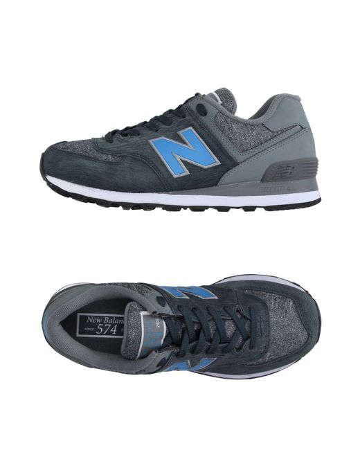 New Balance | Blue Low-tops & Trainers for Men | Lyst