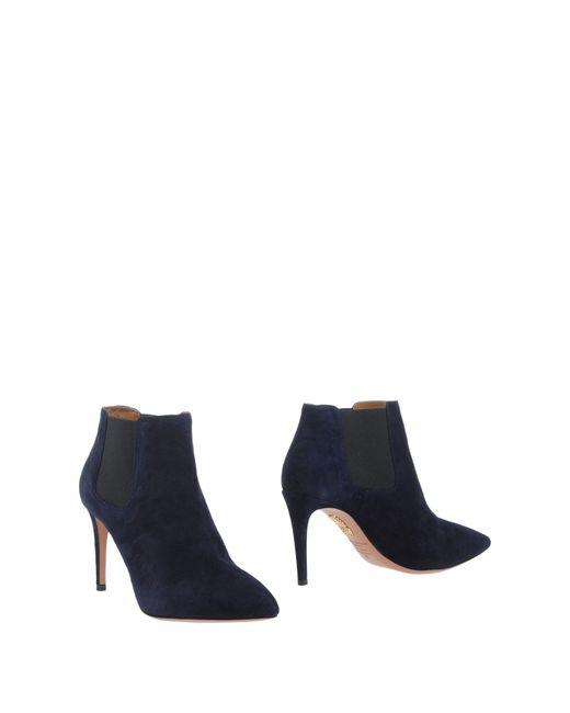 Stuart Weitzman | Blue Ankle Boots | Lyst