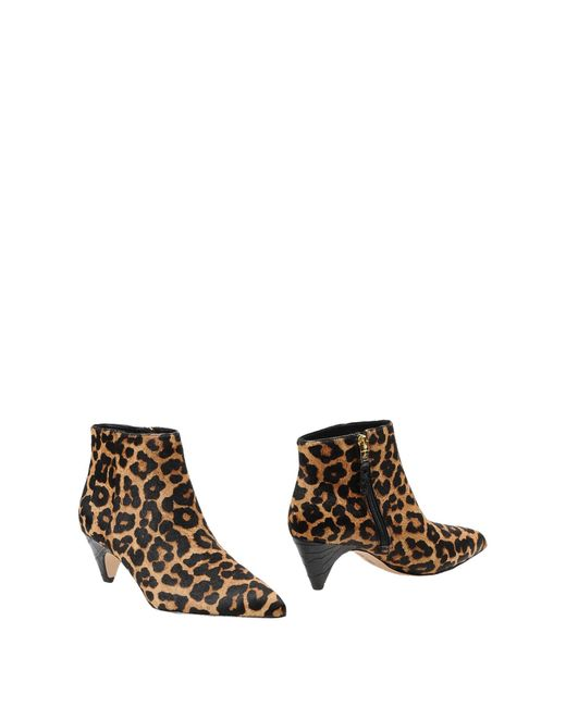 Sam Edelman | Brown Ankle Boots | Lyst