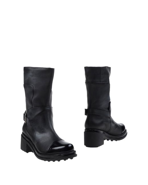 Robert Clergerie | Black Ankle Boots | Lyst