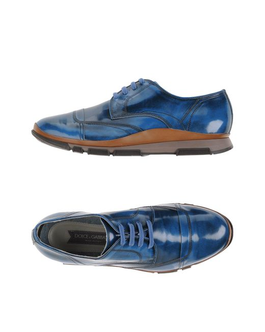 Dolce & Gabbana | Blue Low-tops & Sneakers for Men | Lyst