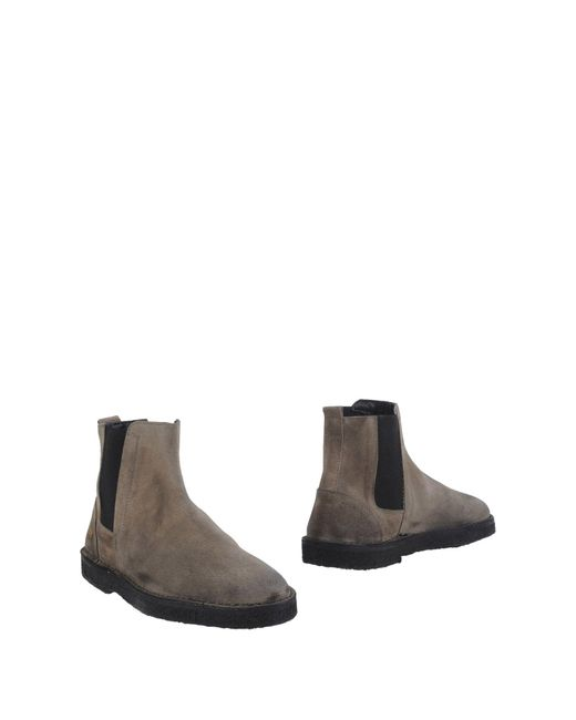 Golden Goose Deluxe Brand | Gray Ankle Boots for Men | Lyst