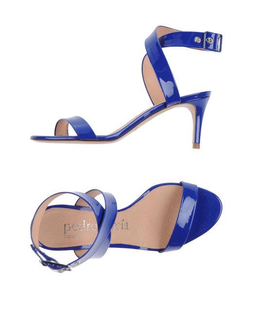 Pedro Garcia | Blue Sandals | Lyst