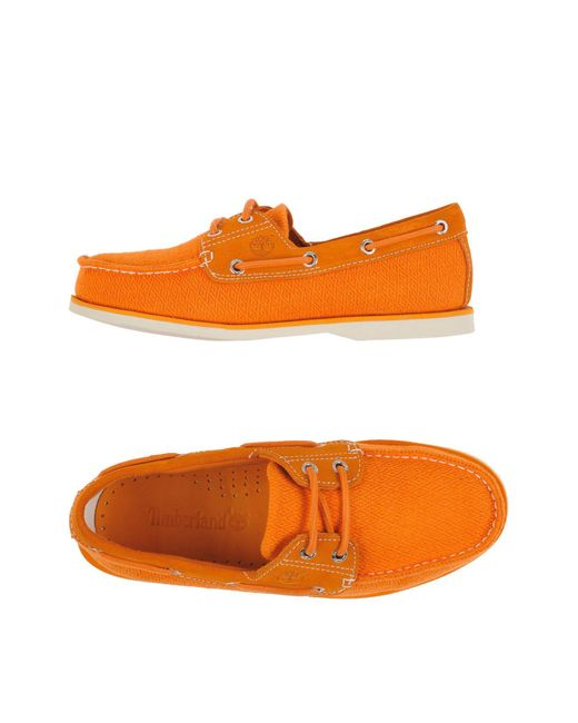 Timberland   Orange Loafer for Men   Lyst