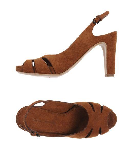Roberto Del Carlo | Brown Sandals | Lyst