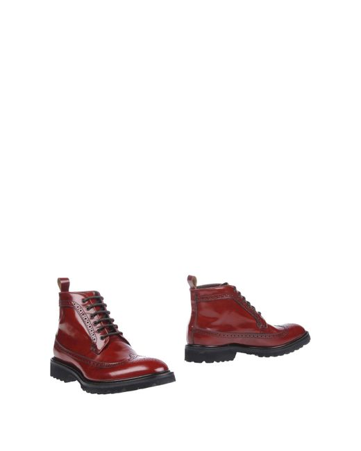 DSquared² | Red Ankle Boots for Men | Lyst