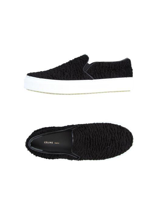 Céline | Black Low-tops & Sneakers | Lyst