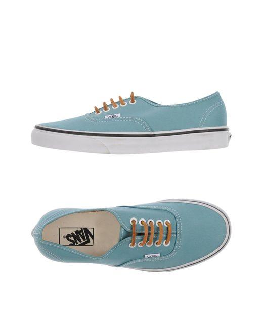 Vans   Blue Low-tops & Sneakers for Men   Lyst