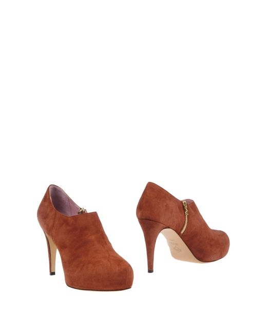 Noiselle By Eh | Brown Shoe Boots | Lyst