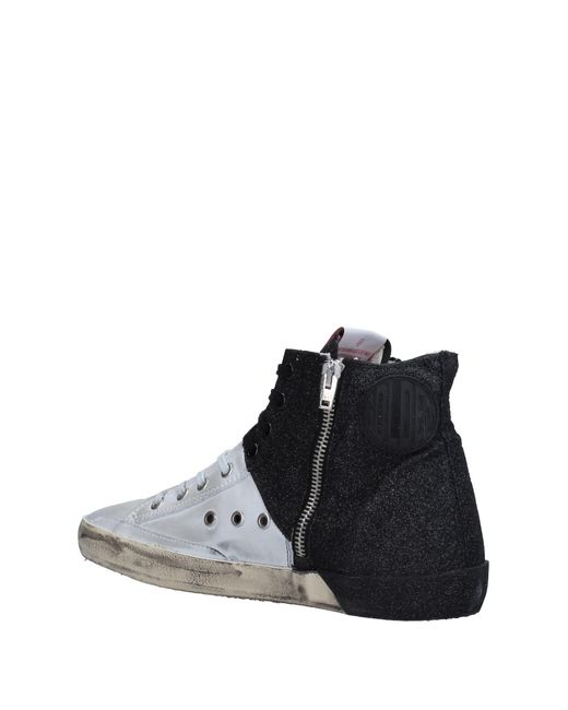 golden goose deluxe brand high tops trainers in grey lyst. Black Bedroom Furniture Sets. Home Design Ideas