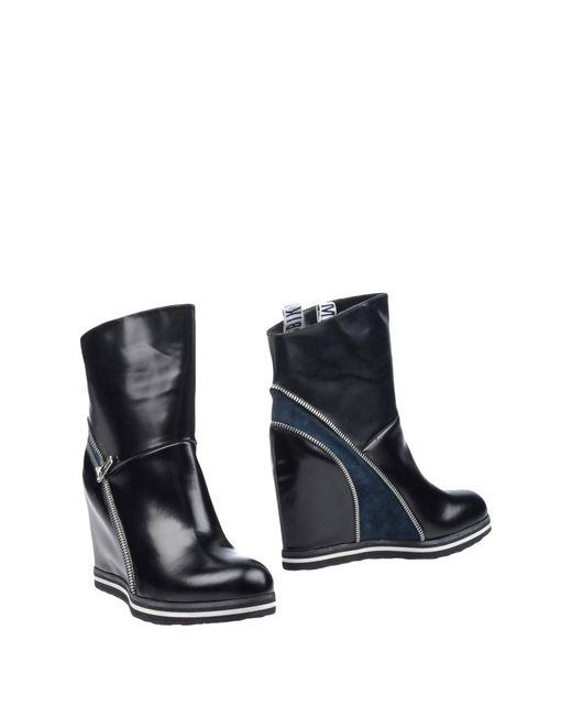 Dirk Bikkembergs   Black Ankle Boots   Lyst