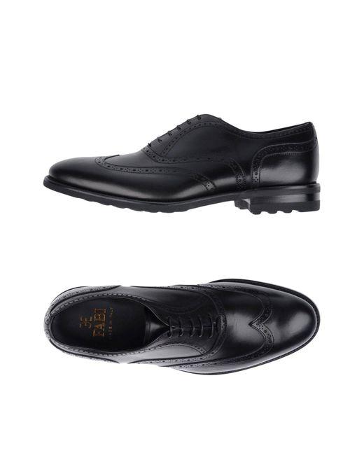 Fabi | Black Lace-up Shoes for Men | Lyst