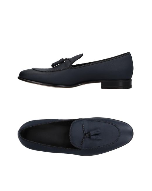 A.Testoni | Blue Loafer | Lyst