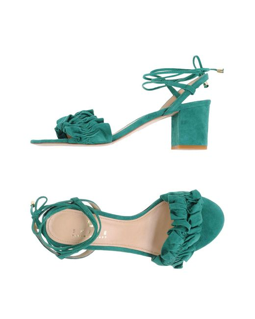 Space Style Concept   Green Sandals   Lyst