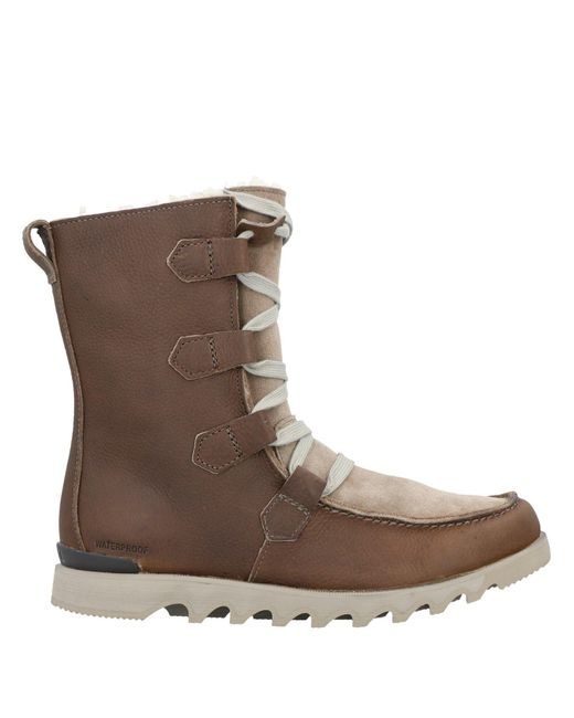 Sorel Brown Ankle Boots for men