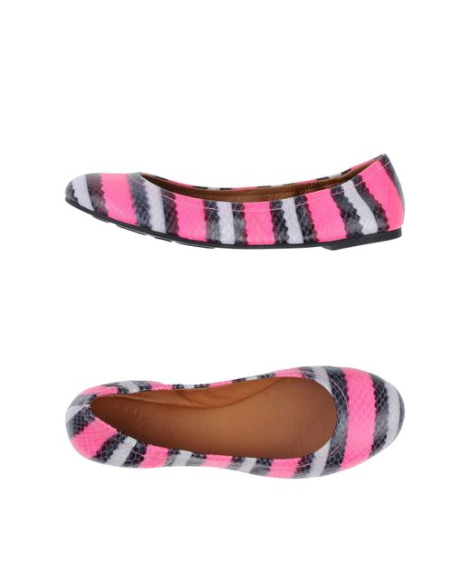 Marc By Marc Jacobs - Pink Ballet Flats - Lyst