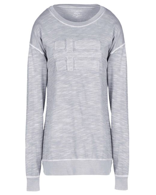 Napapijri - Gray T-shirt - Lyst