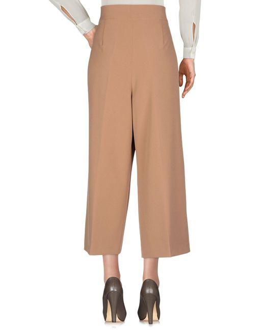 Pantalones Clips de color Natural