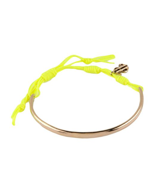 Venessa Arizaga - Yellow Bracelet - Lyst
