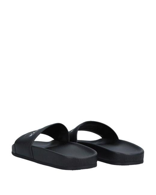 En Sandales Coloris Lyst Balenciaga Noir mnwvN80O