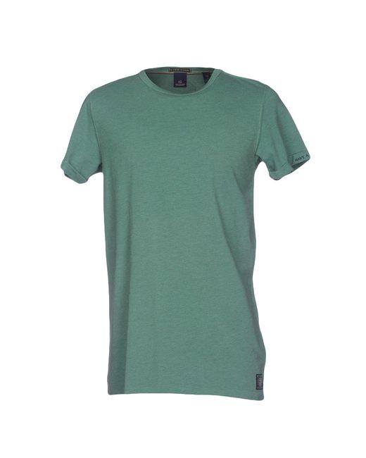 Scotch & Soda | Green T-shirt for Men | Lyst