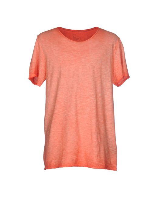 drykorn t shirt in red for men lyst. Black Bedroom Furniture Sets. Home Design Ideas